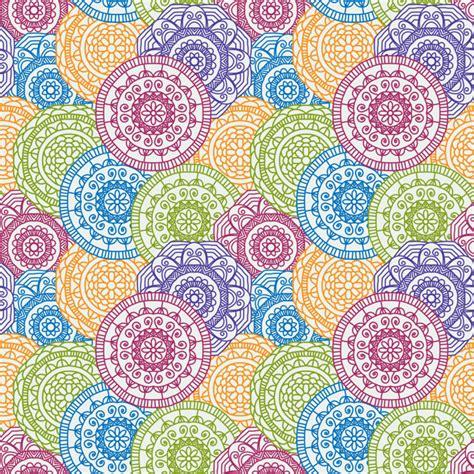 fondo colorido con patr 243 n de mandalas circulares descargar vectores gratis