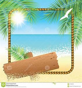Sand Beach Background. Stock Vector - Image: 57069640