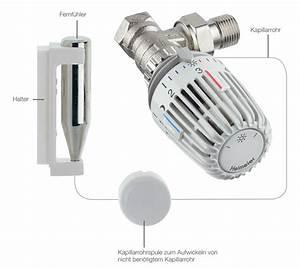 Elektronisches Thermostat Mit Fernfühler : thermostatventil heizk rper funktion austausch kauf mehr ~ Eleganceandgraceweddings.com Haus und Dekorationen