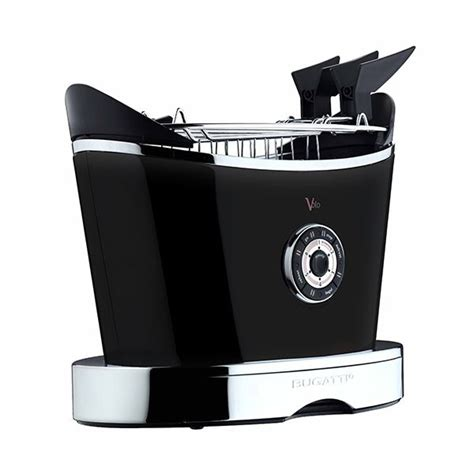 To toast, to defrost or to. Bugatti Volo Black Toaster 13-VOLON/UK