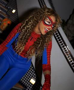 Parting Shot: Beyonce Dressed Up as Spider-Man