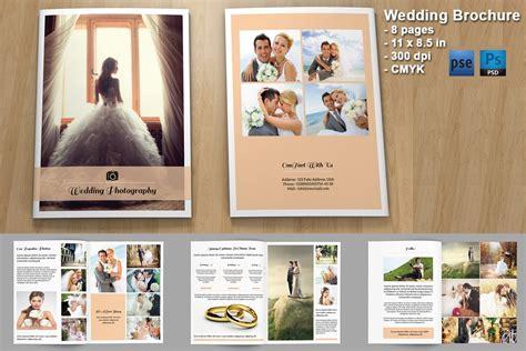 wedding photography brochure  brochure templates