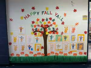Fall Bulletin Board Idea