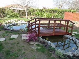 Pont En Bois Pour Jardin : pas japonais le blog de celtikalia ~ Nature-et-papiers.com Idées de Décoration