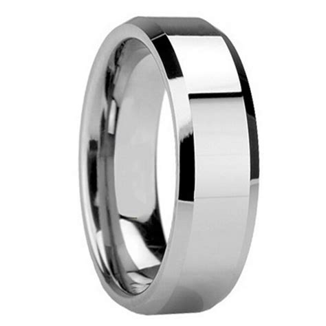mens 8mm tungsten carbide wedding band ring his size 8 9 10 11 12 13 new ebay