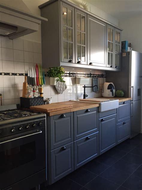 New Kitchen Ikea Bodbyn Grey  Inspiration Pinterest