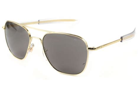 ao eyewear original pilot gold bayonet temples sunglasses