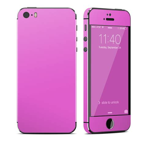 iphone 5s pink solid state vibrant pink iphone 5s skin covers apple