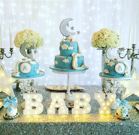 elegant twinkle twinkle  star baby shower ideas