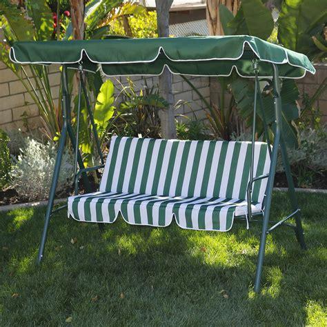 porch swing canopy 3 person patio swing canopy tilt awning hammock steel