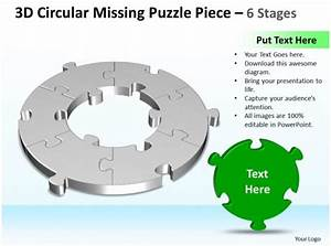 Business Powerpoint Templates 3d Cycle Missing Puzzle