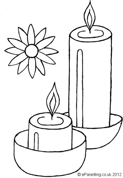 diwali colouring pages  kids