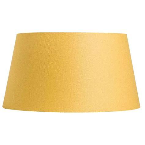 abat jour lika jaune ocre 50x40x27 cm