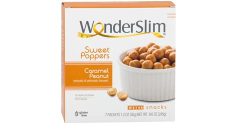 Wonderslim Weight Loss Meal Replacement Sweet Poppers