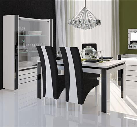 table et chaises de cuisine conforama chaise de salle a manger noir et blanc