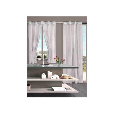 cortinas rayas cortina de cocina confeccionada rayas