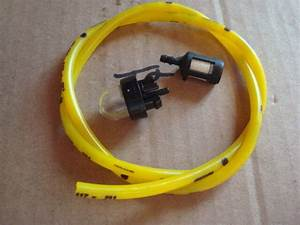 Primer Bulb Snap In Fuel Line  U0026 Filter Repl Mcculloch Chainsaw 3210 3214 3216