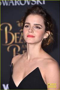 Emma Watson Puts Gold Detail Into Her 'Beauty & The Beast ...