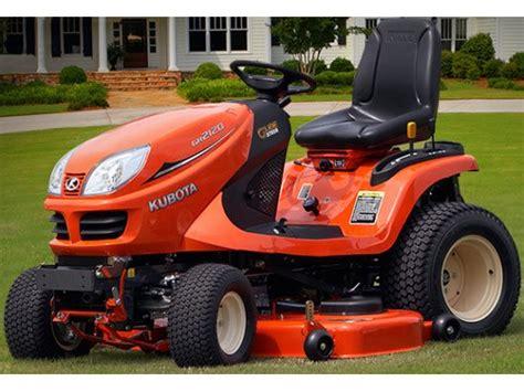 kubota garden tractor new 2017 kubota lawn tractor gr2120 2 lawn mowers in
