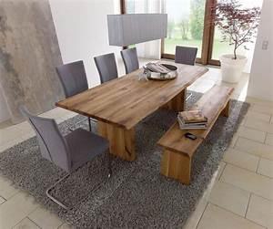 Sitzgruppe Mit Bank : massivholz esstisch mit bank com forafrica ~ Pilothousefishingboats.com Haus und Dekorationen