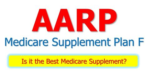 The cost of supplemental insurance with. AARP Medicare Supplement Plan F - Is It The Best Medicare Supplement? - YouTube