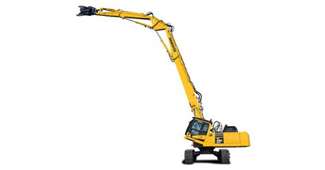 komatsu europe announces pchrd  high reach demolition excavator komatsu