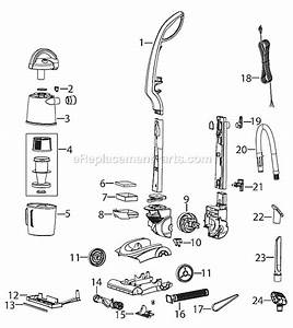 Bissell 13h8 Parts List And Diagram   Ereplacementparts Com