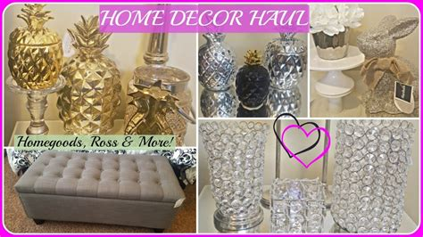 Homegoods Decor: HOME DECOR HAUL 2017🍍Homegoods, Marshalls, Ross, H&M