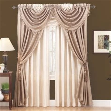 Annas Linens Curtain Tie Backs by 54 Quot X95 Quot Faux Silk Panel From Annas Linens 14 99 These