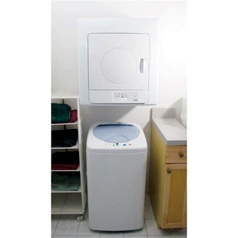 Washer For Apartment by Haier 1 46 Cu Ft Compact Washer And 2 6 Cu Ft Tumble
