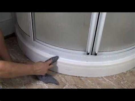 how to re caulk a shower how to re caulk a fiberglass shower