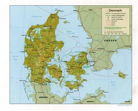 maps  denmark