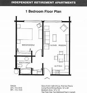 One Bedroom Apartment Floor Plans