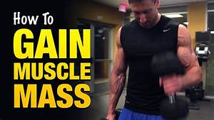 How To Gain Muscle Mass Fast: 3 Tips That Pro Bodybuilders ...
