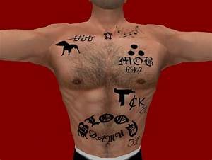The Bloods Tattoos