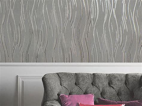 Moderne Tapeten In Grau wallpaper s modern grey black and silver with glitter