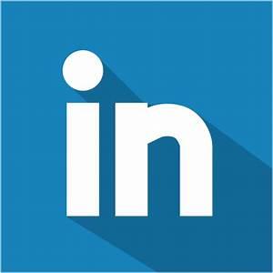 Linkedin Icon | Flat Shadow Social Iconset | S-Icons