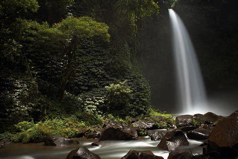 air terjun nungnung wisata alam  eksotis  badung