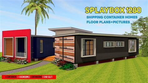2 story floor plans for container house shipping container homes plans and modular refab design ideas splaybox 1280