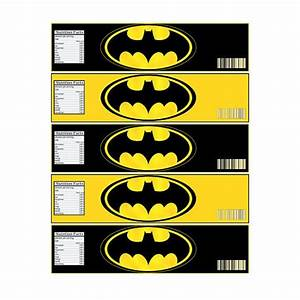 instant download batman bottle label digital file for With batman water bottle labels