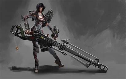 Ss Waffen Sniper Fantasy Background Guns Warrior