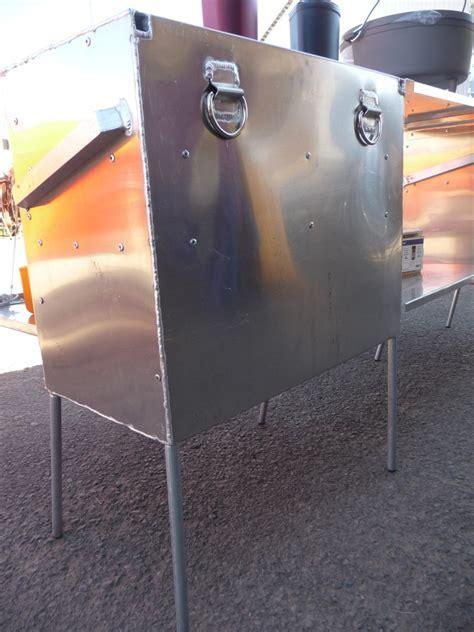 Aluminum Camp Kitchen Panniers