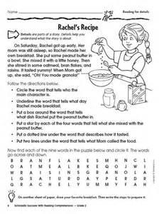Ged Practice Worksheets Reading Comprehension Grade 2