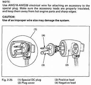 Honda 300 12 Volt Plug