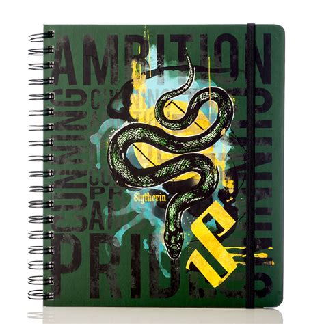 harry potter  slytherin weekly planner