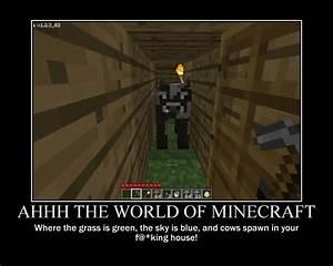 Motivational Po... Stupid Minecraft Quotes