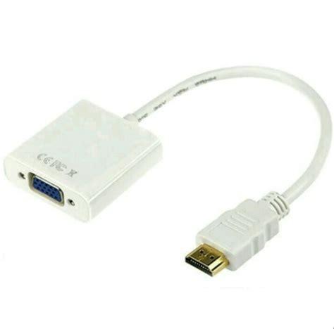 Harga Konektor Hdmi To Rca jual converter hdmi to vga kabel hdmi to vga konektor