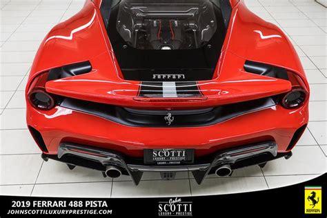Now, coming to ferrari 488 gtb. 2019 Ferrari 488 PISTA Used for sale in Kirkland at John Scotti Luxury Prestige