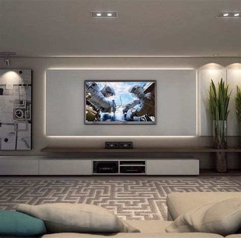 tv wall ideas living room pinteres