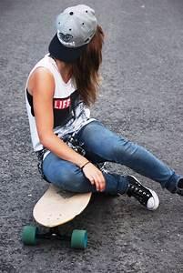 Street skate/girl | Fashion | Pinterest | Follow me ...